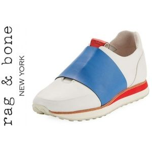 NWOT! Rag & Bone Dylan Colorblock Leather Sneaker